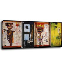 "abstract art decor oil painting print on canvas jean-michel basquiat""cricket"""