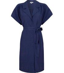blouse jurk sabeau  blauw