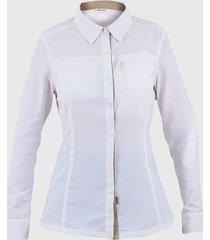 blusa arizona blanco mujer hardwork