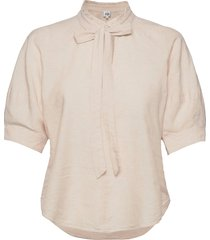 celeste blouse blouses short-sleeved beige twist & tango