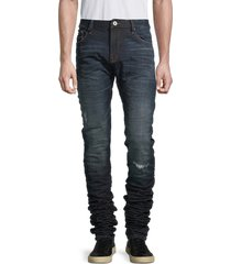 cult of individuality men's nakkai stretch skinny jeans - gibson - size 34