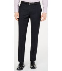 dkny men's modern-fit pinstripe pants