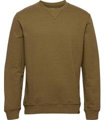 hugo crew neck 11414 sweat-shirt trui groen samsøe samsøe