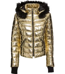 giacca con cappuccio (oro) - rainbow