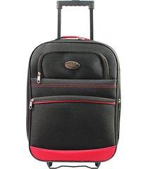 "maleta de viaje tipo cabina discovery 18"" roja - explora"