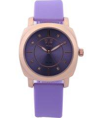 reloj lila-oro rosa versace 19.69
