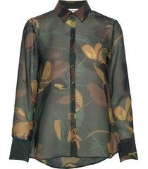 blouse long-sleeve blouse lange mouwen groen gerry weber
