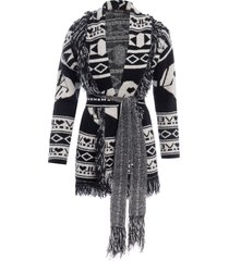 casaco feminino tricot ski - preto