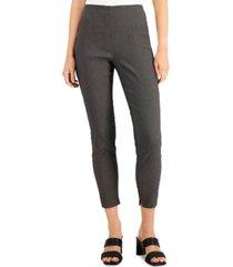 alfani petite printed jacquard skinny-leg pants, created for macy's