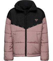 hmlvibrant jacket gevoerd jack roze hummel