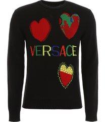 versace love pullover