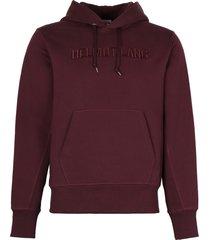helmut lang cotton hoodie