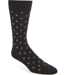 men's nordstrom men's shop microprint ultrasoft socks