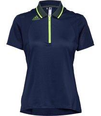 a.rdy eng ss p t-shirts & tops polos blå adidas golf