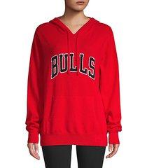chicago bulls cashmere hoodie