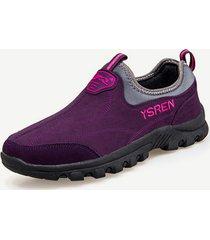 scarpe sportive piatte da uomo traspiranti per esterno soft