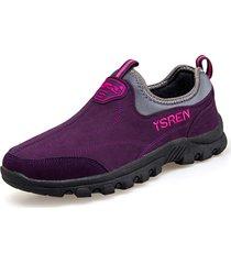 scarpe sportive piatte morbide outdoor da donna traspiranti