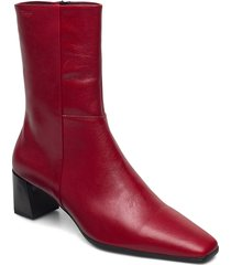 gabi shoes boots ankle boots ankle boot - heel röd vagabond
