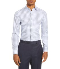 men's bonobos trim fit plaid dress shirt