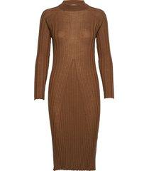 violette dress knälång klänning brun lovechild 1979