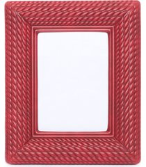 porta retrato poliuretano - vermelho