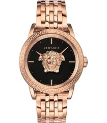 men's versace palazzo empire bracelet watch, 43mm