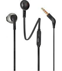 audí­fonos manos libres jbl t205 in-ear cable 3.5mm - negro