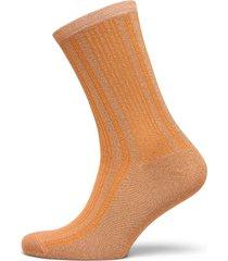 slflana sock b lingerie socks regular socks orange selected femme