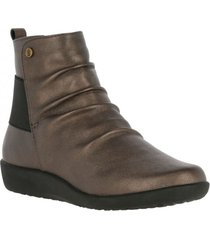 botin leather tian gris hush puppies