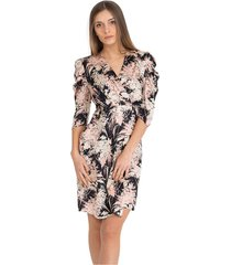 midi dress with flowers