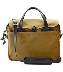 men's filson original briefcase - brown