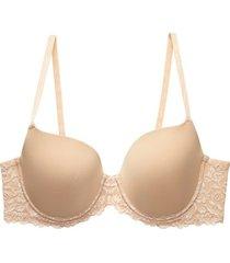 natori renew full fit contour bra, women's, beige, size 30c natori