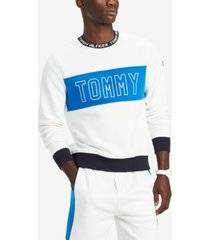 tommy hilfiger men's big & tall logo graphic sweater, created for macy's