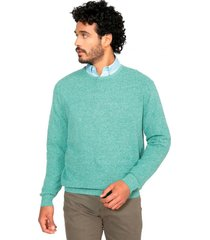 sweater cuello redondo aqua arrow