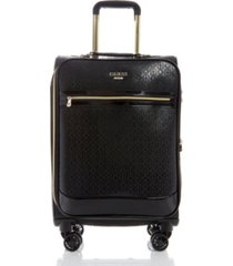 "guess fashion travel barlow 20"" softside carry-on spinner"