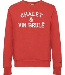 mc2 saint barth chalet & vin brulè terry patch embroidery sweatshirt