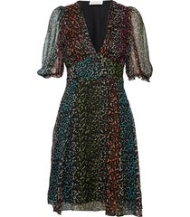 brave short dress knälång klänning multi/mönstrad storm & marie