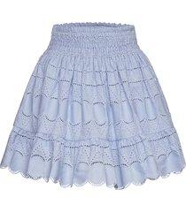 holly skirt kort kjol blå by malina