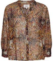 blouse quincy blouse lange mouwen goud ba&sh