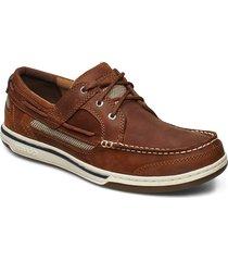 triton three eye fgl båtskor skor brun sebago