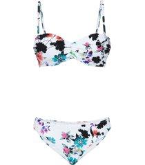 bikini con ferretto (set 2 pezzi) (bianco) - bpc bonprix collection