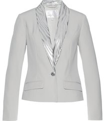 blazer in fantasia lucida (grigio) - bpc selection