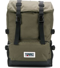tommy hilfiger urban varsity backpack - green