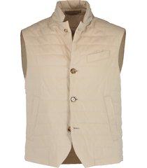 nylon button vest