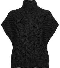 silopo vests knitted vests svart iro