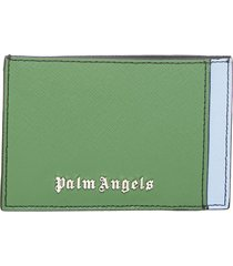 palm angels card holder