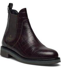 maliin chelsea shoes chelsea boots röd gant