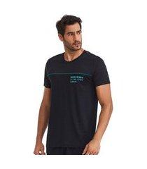 t-shirt masculina success preta g