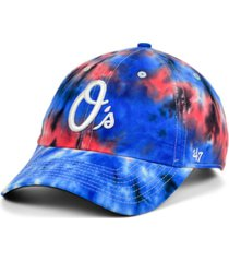 '47 brand baltimore orioles truckin' usa clean up cap