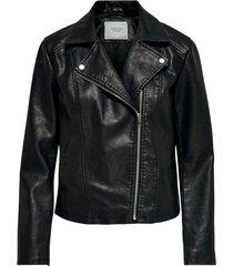 jacka jdysimba faux leather jacket